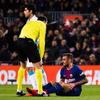 """バルサFWアルカセル、左足負傷で3週間離脱へ…""""クラシコ""""欠場が決定"""