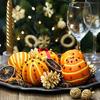 クリスマスの準備は万全? クリスマスリースとオレンジポマンダー作り