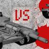 「2人対戦ゲーム 戦車の決闘!」を作りました