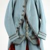 今日の一着:水色の男性用スーツ(1780年イギリス)