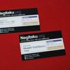 『Negitaku.org』の名刺を作成してみました
