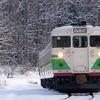 銀雪のしなの鉄道撮影(6):牟礼~古間,初代長野色を面縦で決める。