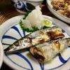 台風一過の晩ご飯