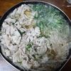 水菜とモヤシのあっさり鍋