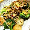 カリカリしらすと菊芋のアヒージョサラダ
