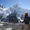 ヒマラヤトレッキング15日目 世界最高峰のエベレストが...(ゴラクシェプ↔カラ・パタール→ロブチェ)