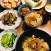 たけのこご飯とか和惣菜で晩酌。