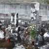 中岡慎太郎遺髪墓地。