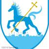 湖上馬の紋章