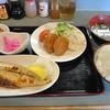 茂原 金曜日 焼魚(さば)とメンチカツ定食の日