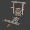 Blenderでローポリ井戸を作るチュートリアル #Blender3D