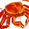 オーバーワークは蟹トマトパスタ。