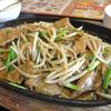 大網 中華の鉄人 レバニラ炒め定食の日