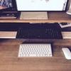 【DIY】快適なデスクを目指して、すのこでキーボードトレイを作る