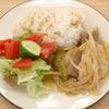 鶏胸肉ともやしの中華炒め煮