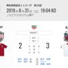 サッカーの試合で起きること~2019シーズンJ1第25節 神戸vs札幌~