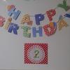誕生日のデコレーション【0円工作】レースペーパーで壁の飾りを作るだけでかわいく写真映え