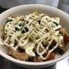 【やみつきレシピ】ほりにし×野菜炒めマヨ丼。ほりにし辛口のパンチがやばい
