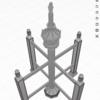 iPadアプリ、U-makeで相輪塔を描こう!(その3)
