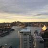 インターコンチネンタルシドニーのクラブラウンジのバルコニーからの眺め~オペラハウスとハーバーブリッジを一望