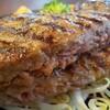弾力ハンバーグ 超肉肉しい~  カウベル 八千代本店  八千代本店とみつわ台店がある 街の洋食屋