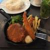 カフェ アグレ  海老フライと肉じゃがコロッケのフライ定食
