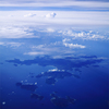 マレーシア上空の写真