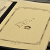 【異色のツバメノート!】斜めに書く人のための、「まっすぐノート」