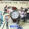 アキバ行ってカシオのアナログ腕時計とミクの日大感謝祭BDボックスを買って来ました
