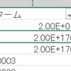 特許データのテーマコードがExcelの指数表記として解釈されてしまう問題を解決する