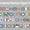 International Maritime Signal Flagってなんかいいよね