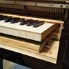 グランドピアノの内部は繊細すぎる部品たちのあつまり