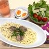 7月4日の食事記録~糖質0麺でさんまのペペロンチーノ