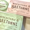 期間限定『BRETONNE (ブルトンヌ)』ピンク缶のクッキーと丸缶の糖衣アーモンド。【新宿小田急百貨店】