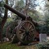 葛城市の笛吹神社に日露戦争の大砲があった