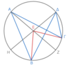 第3巻命題20 中心角は円周角の二倍