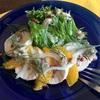 心はニシキ【鶏ハムとオレンジのサラダ】
