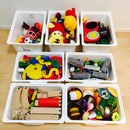 家にある材料で手軽におもちゃの洗浄・除菌をしました