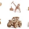 [Wood Trick]親子で楽しめる☆天然素材にこだわった木製立体パズル
