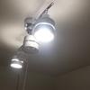 照明器具を取り付けました。