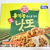日本の納豆に近い!オットゥギの冷凍納豆