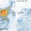 新型肺炎で、中国の大気汚染がドラマチックに改善