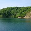 留山ダムの新緑