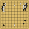AlphaGo対AlphaZeroの棋譜14