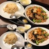 【浜松町】四川料理 唐文記:お昼に焼きそばと炒飯のセットを頂く