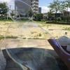 【1歳3歳育児】巨大シャボン玉を作る試み②【夏休み11日目】