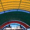 愛知県名古屋市 幼稚園の開閉テント