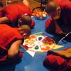 砂曼荼羅と時間の変容