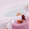 お風呂に入浴剤を入れて冷え性を改善