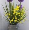 6月の生け花 小さい花の集まりギガンジウム